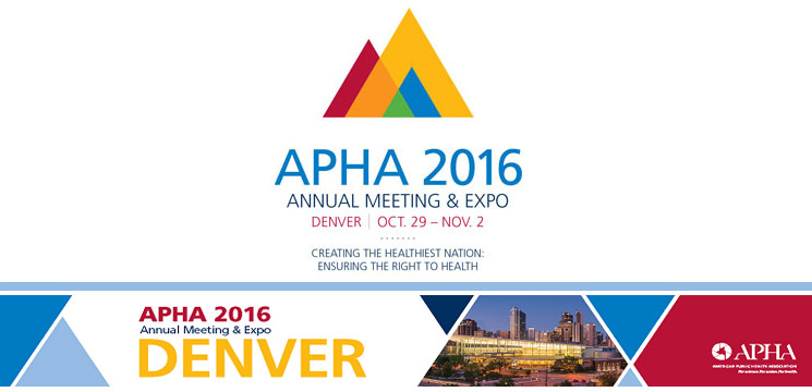 american public health association 2016 annual meeting and expo